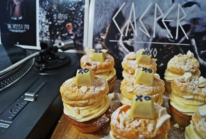 """Cupcakes inspiriert von Hip-Hop-Platten – """"XOXO""""- LP von Casper"""
